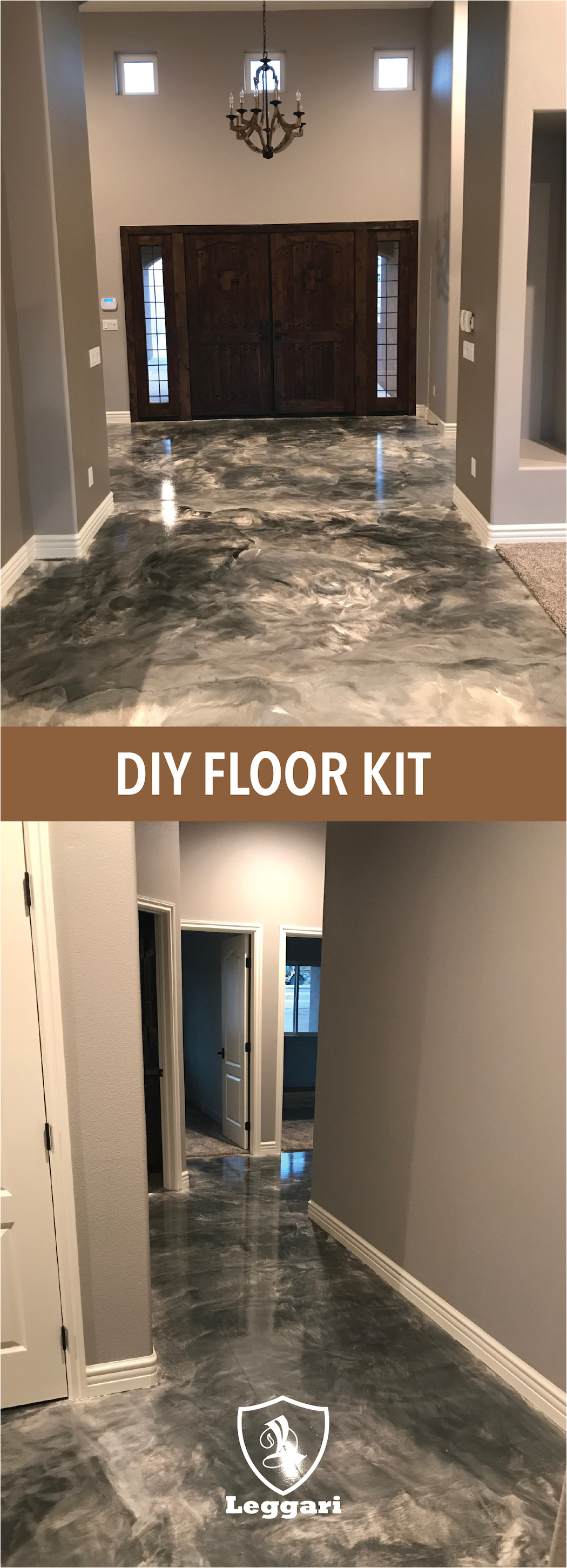 install metallic epoxy diy kits by leggari products give your home the new look you
