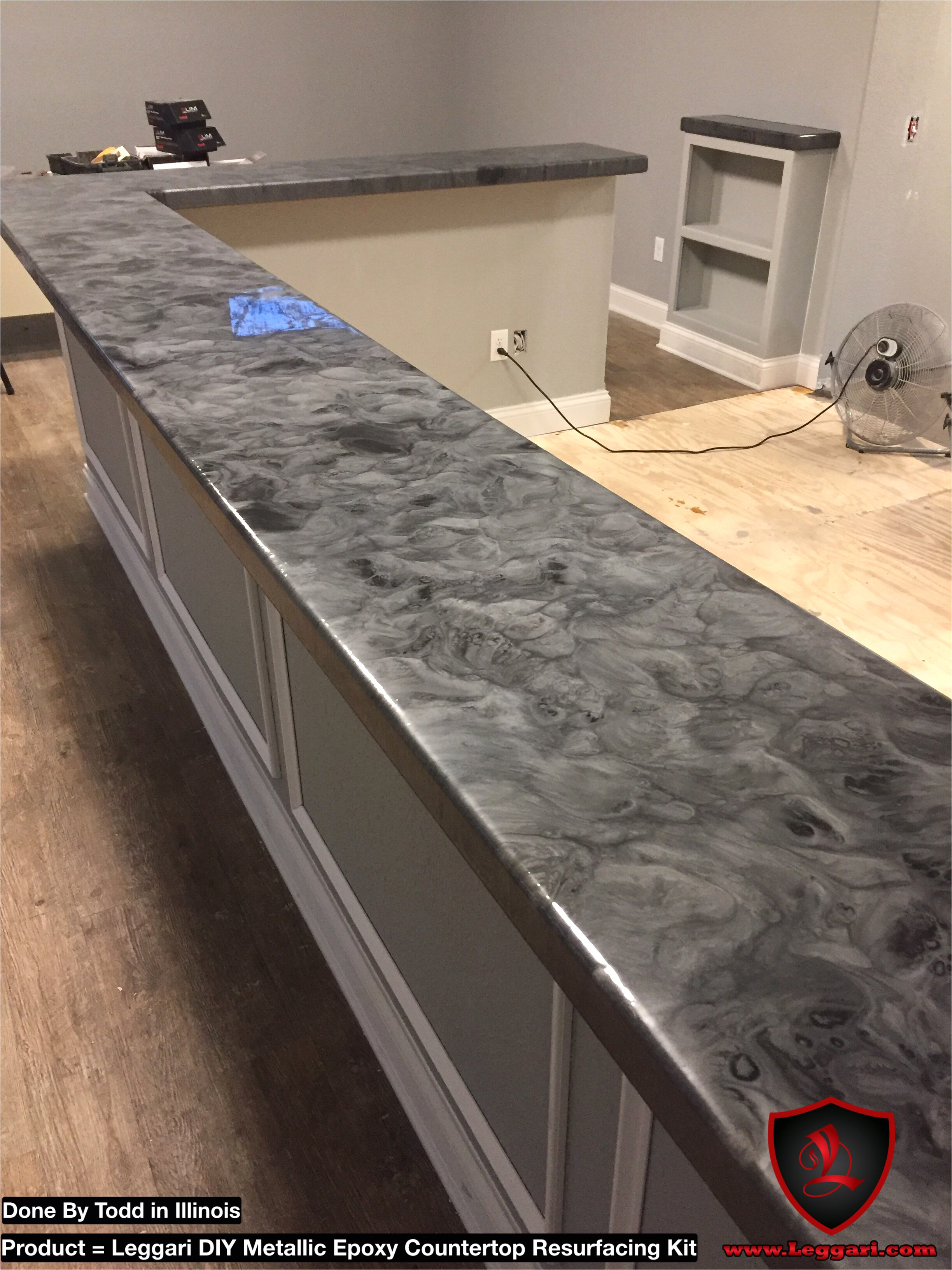Leggari Epoxy Countertop Kits Uk Kitchen Counter Resurface Kit New Coat Your Old or Existing