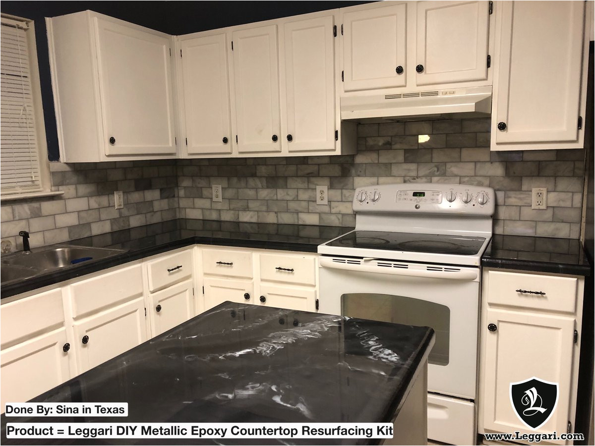 leggari products on twitter these black countertops turned out amazing nice work we love our leggari customers epoxycountertops blackcounters