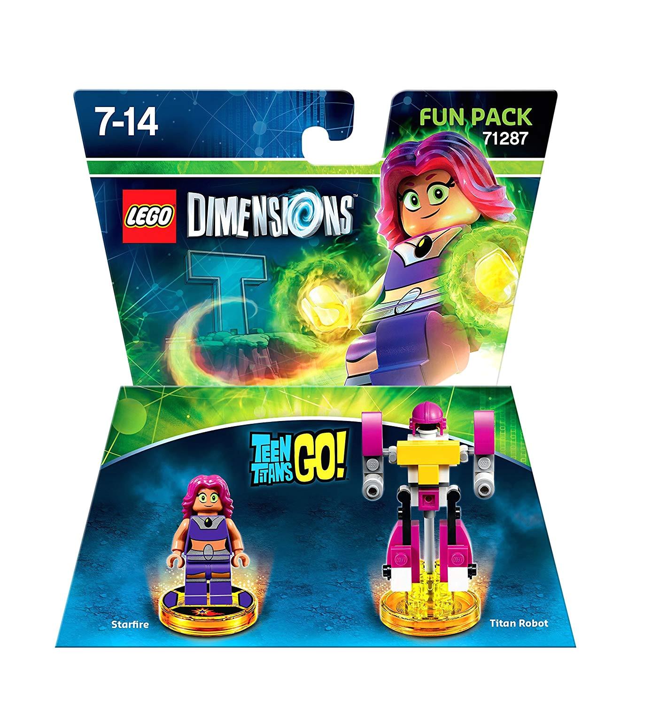 amazon com lego dimensions fun pack teen titans go 2 figuren video games