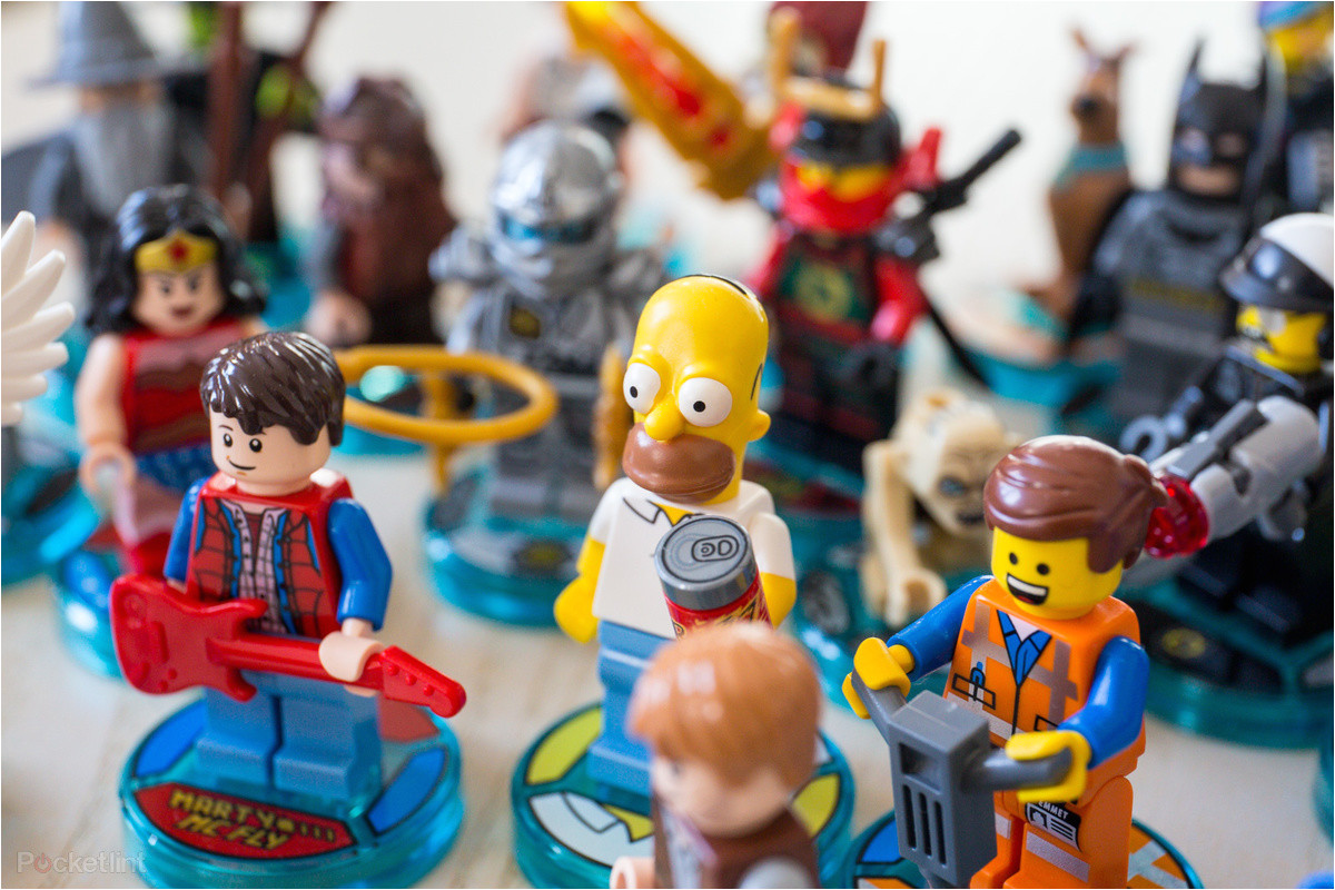 lego dimensions wave 1 in pictures the starter pack team packs level packs and fun packs in the flesh pocket lint