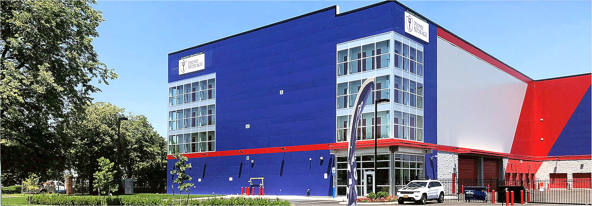 exterior image of prime storage in queens ny