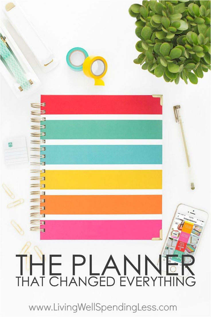 the planner that changed everything