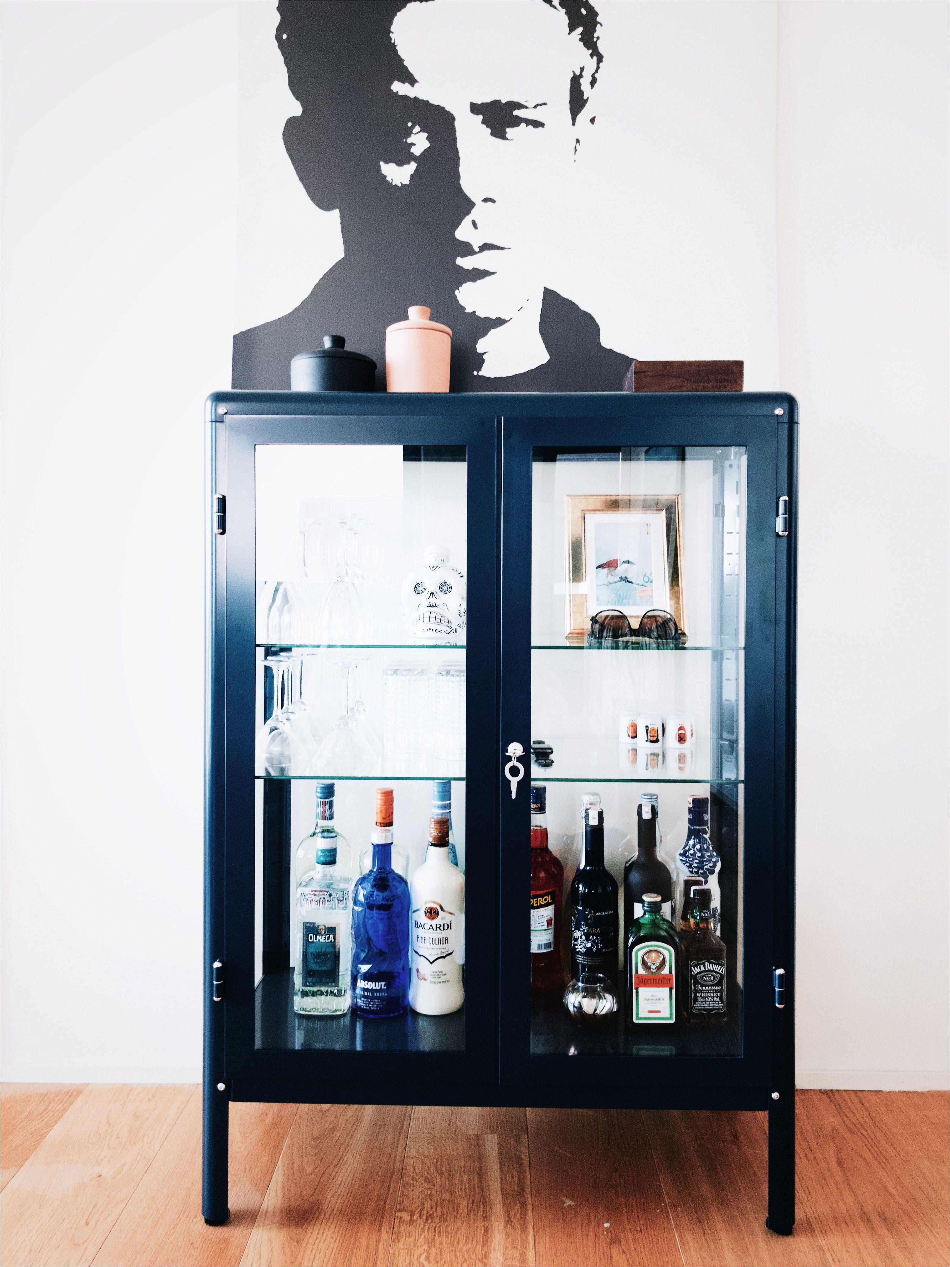 Locked Liquor Cabinet Ikea Cabinet Ikea Fabrikor Bufet Cave Sweet Cave In 2019 Pinterest