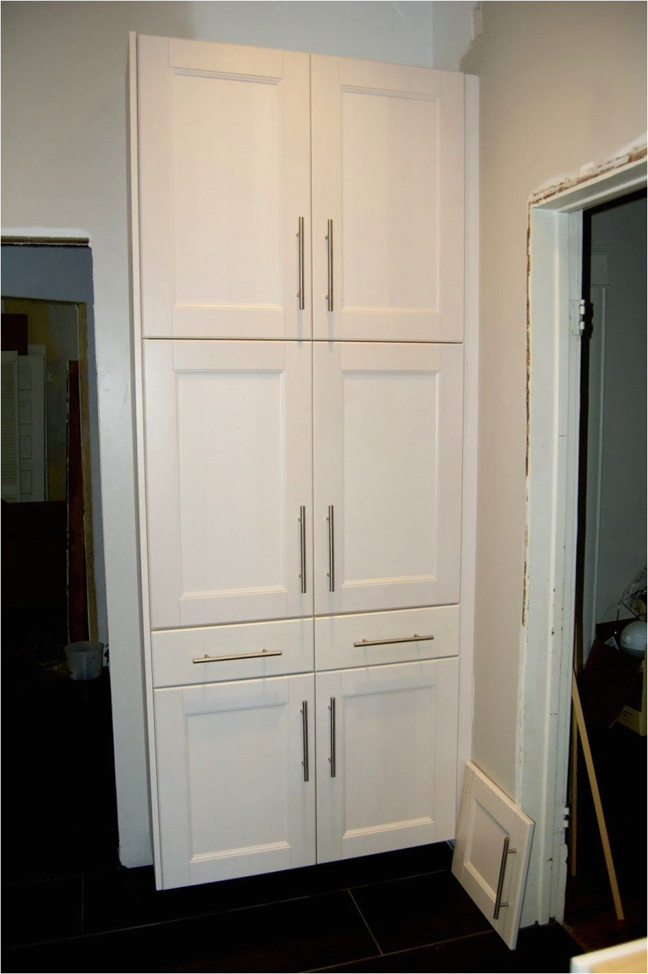standing kitchen pantry cabinet ikea larder cupboard storage ideas cabinets worktops stand alone units standing