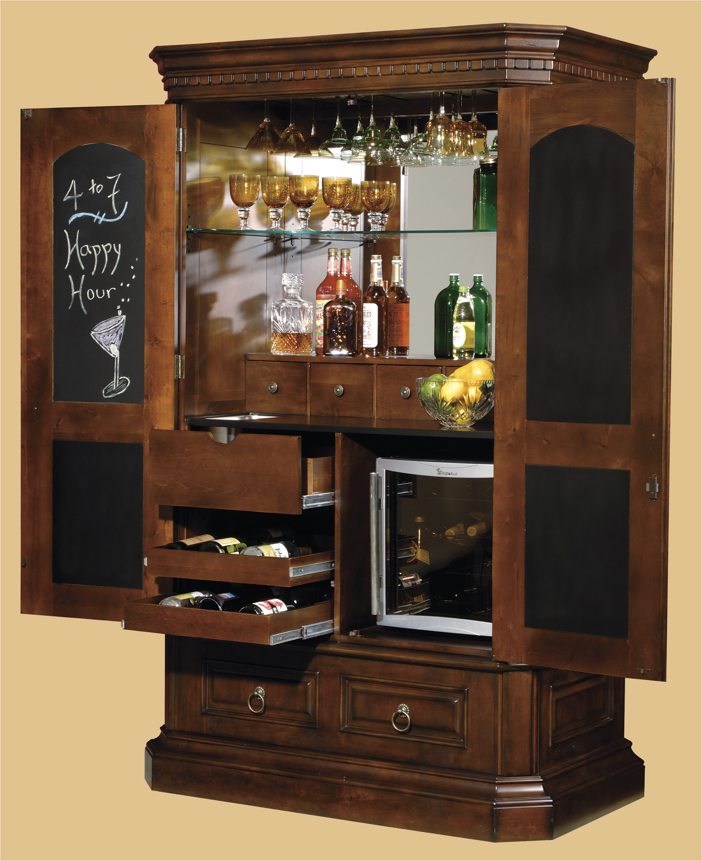 luxury corner bar cabinets for home