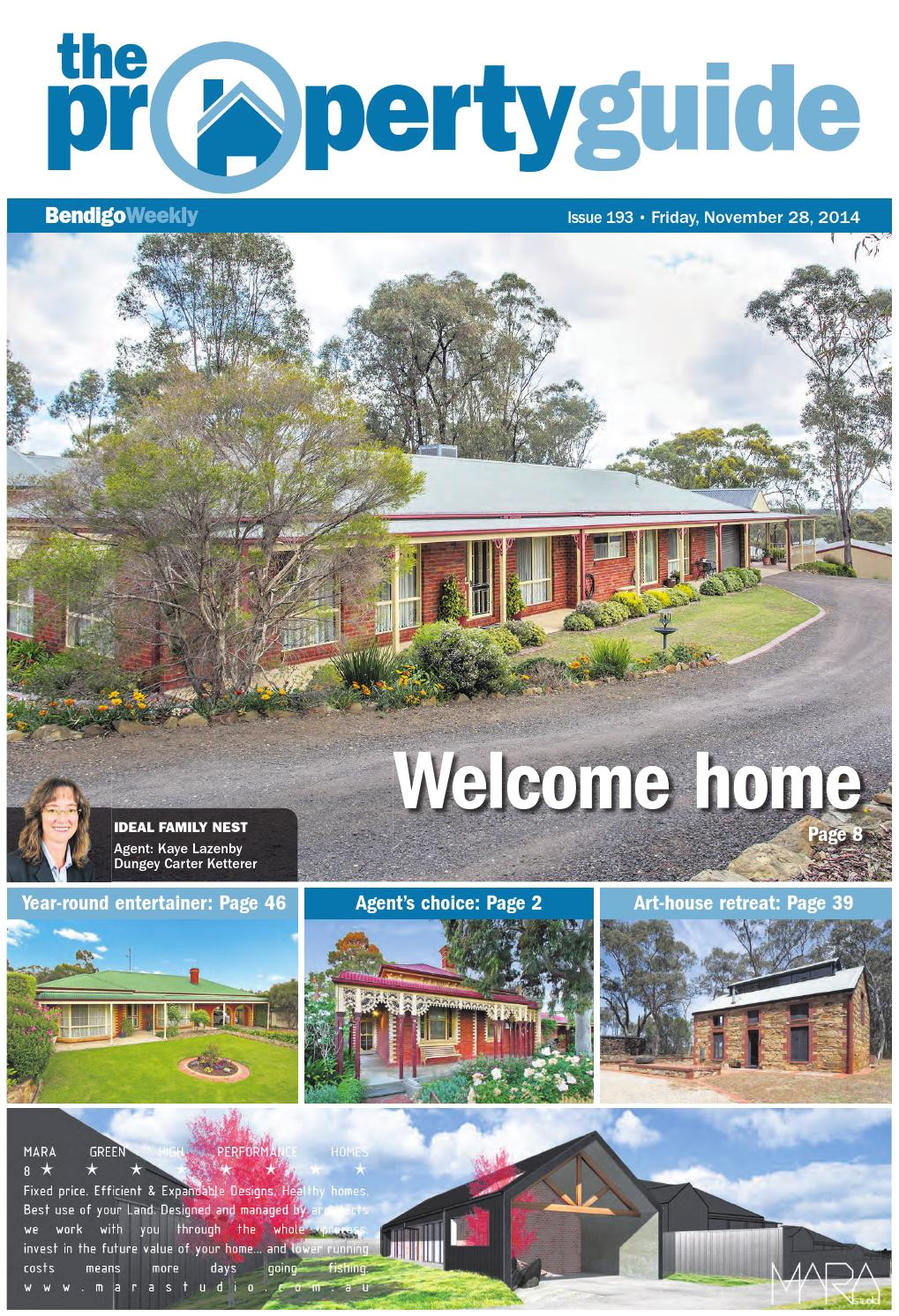 bendigo weekly property guide issue 193 fri nov 28 2014 by bendigo weekly issuu