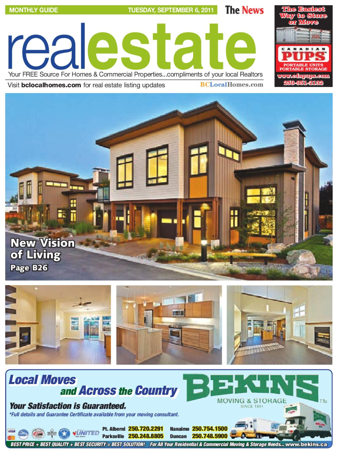 parksville qualicum beach news monthly real estate guide tuesday september 6 2011 by parksville qualicum beach news issuu