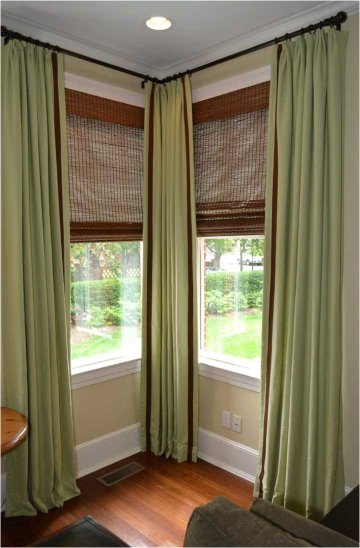 interior corner window curtain rod rods connector lowes bay connectors corner window curtain rod