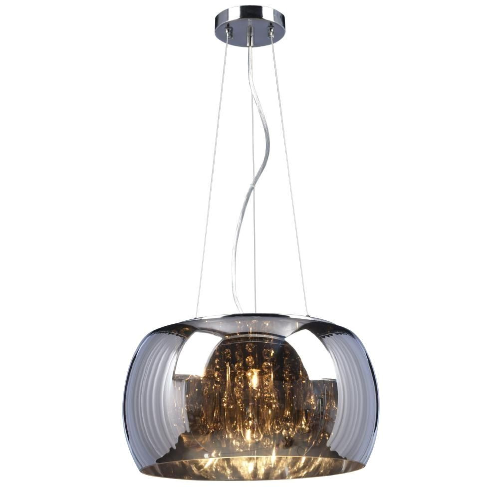 filament design negron 5 light chrome halogen pendant cli xy5254079 at the home
