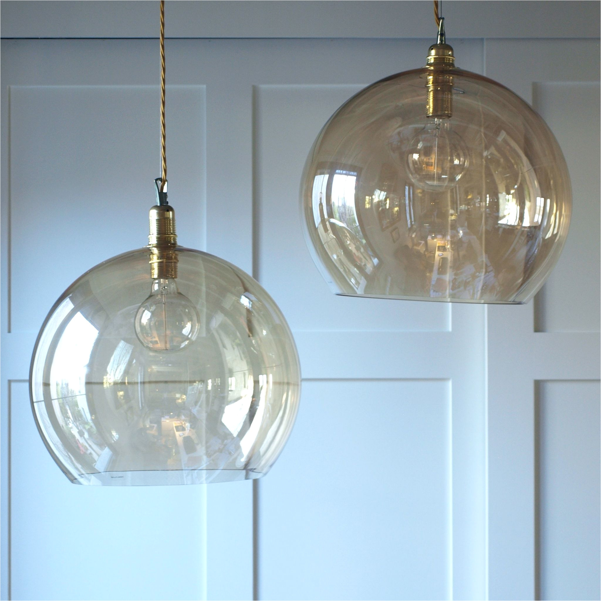 isabel la pez quesada lampara de techo globo de cristal