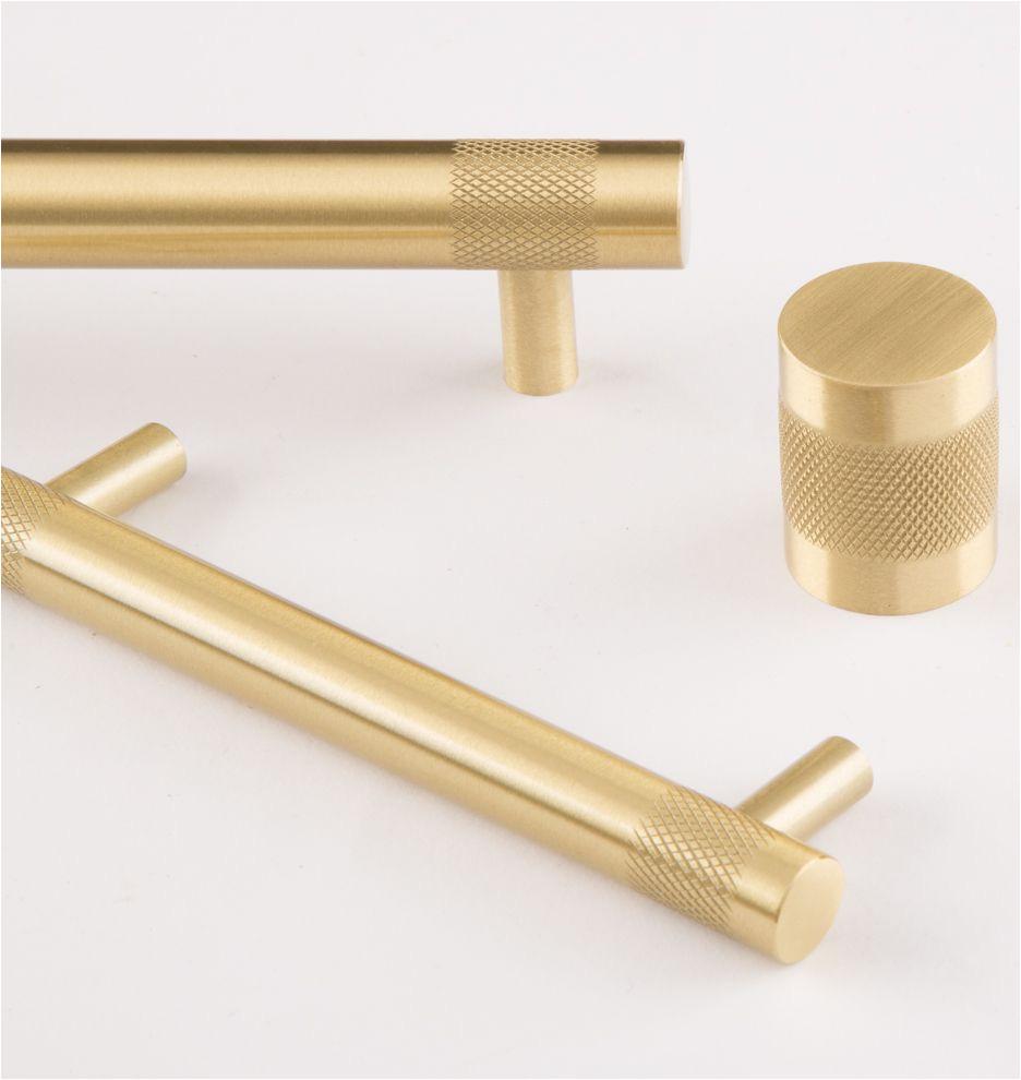 cabinet knob satin brass