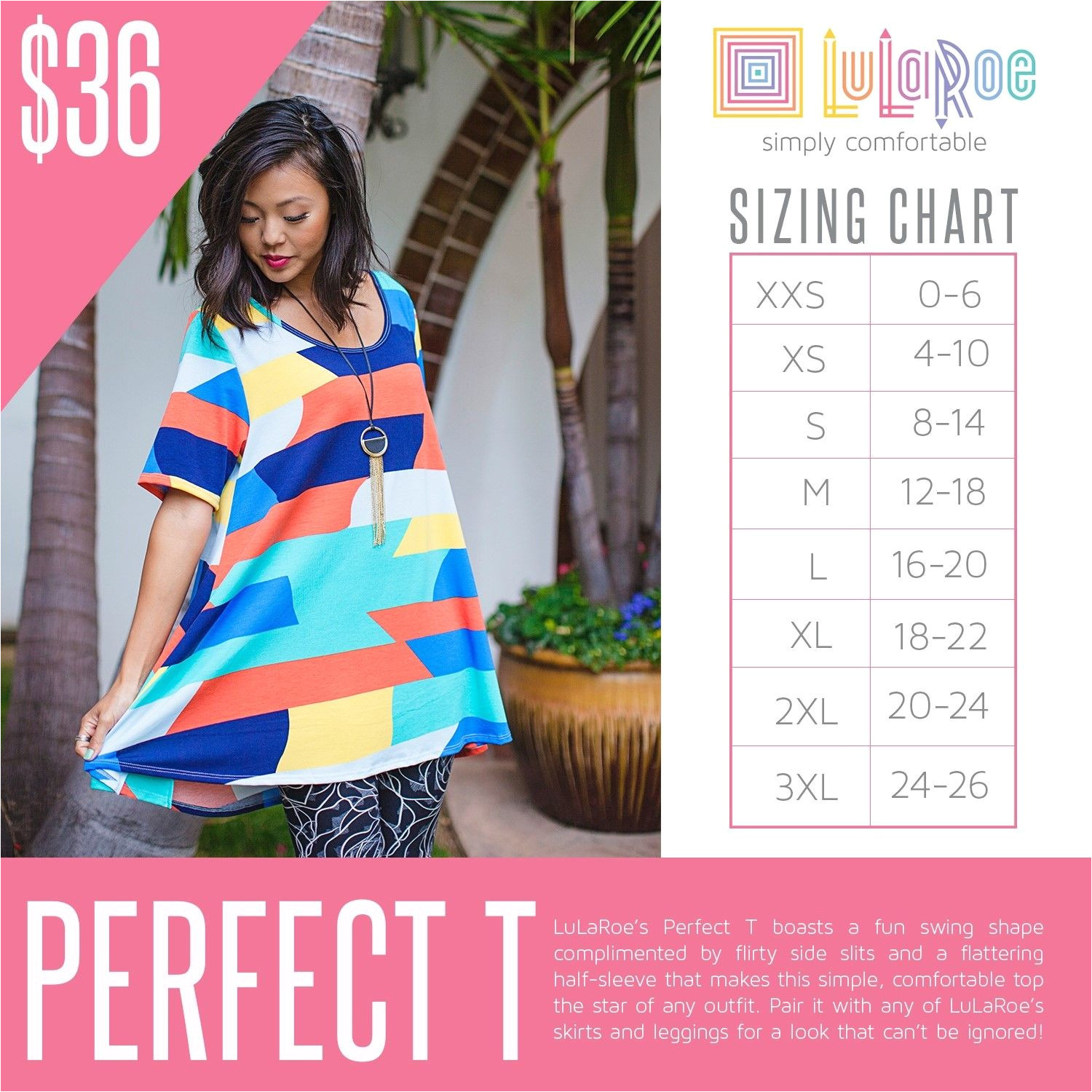 image result for lularoe perfect t price