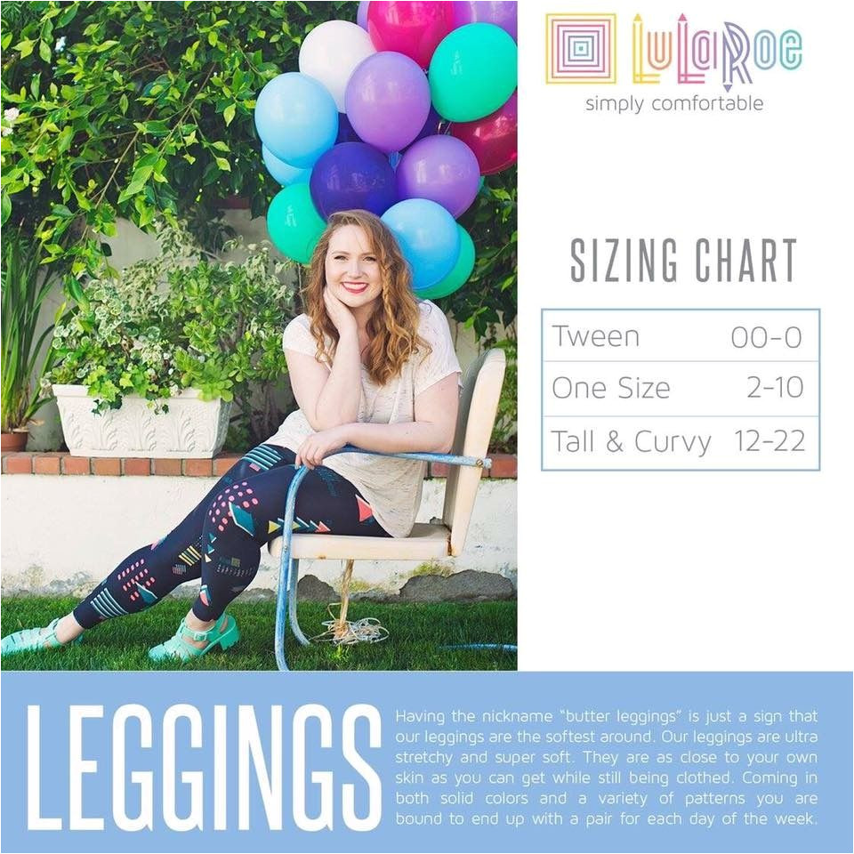 lularoe size chart reference from the lularoe site is a size chart breaking down what exactly one size means and who it s designed to fit best