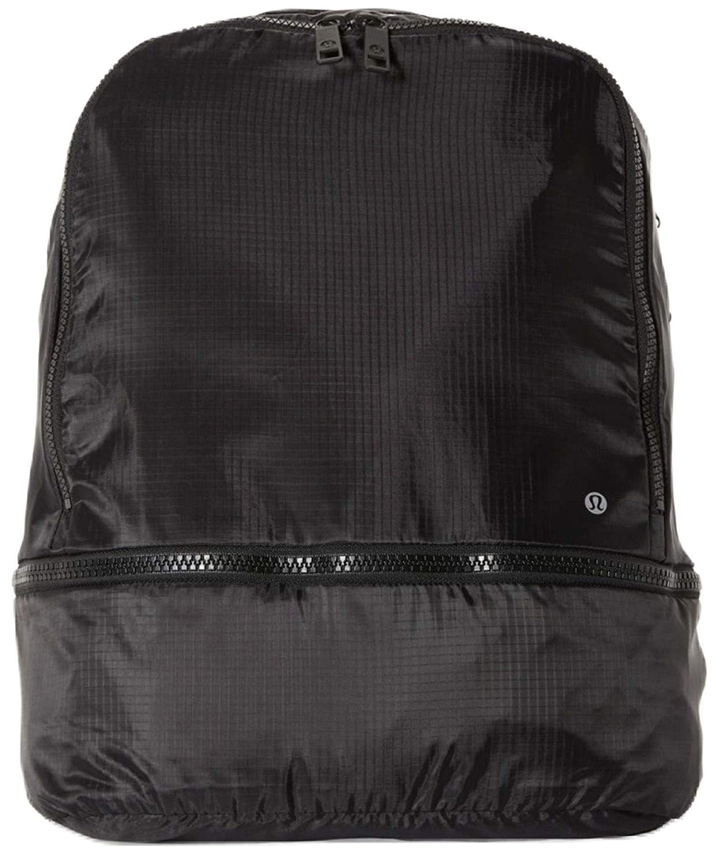 lululemon go lightly backpack black packable womens bag