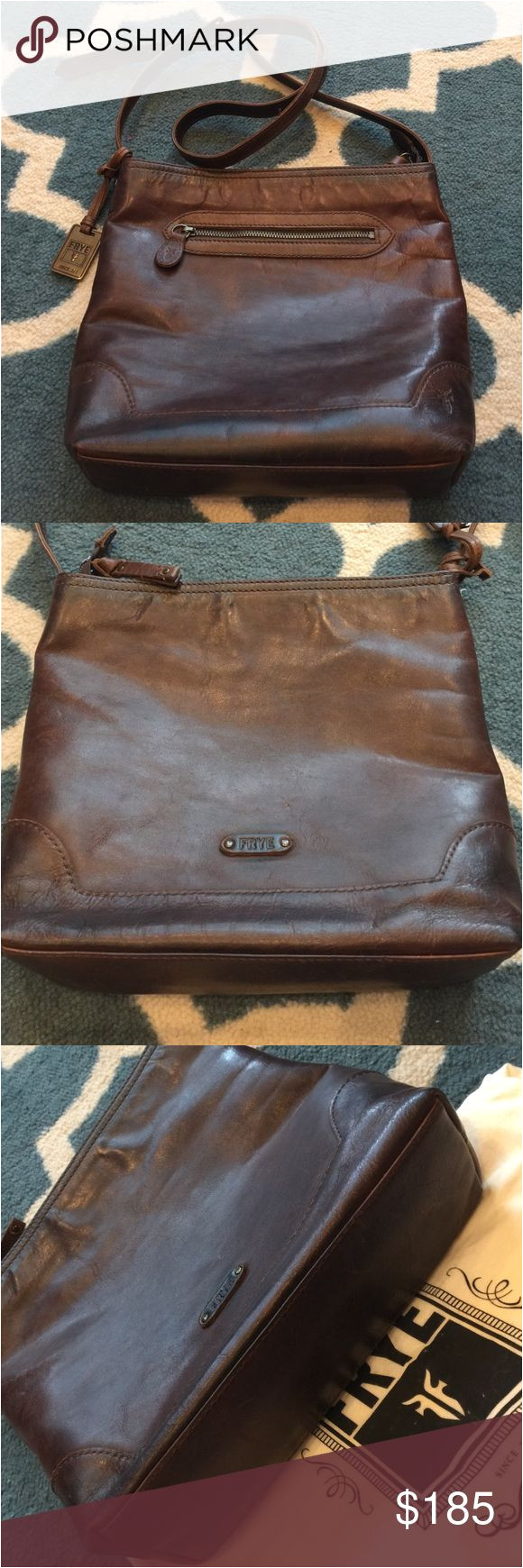 frye crossbody leather purse pre owned frye shoulder bag in excellent condition for those that