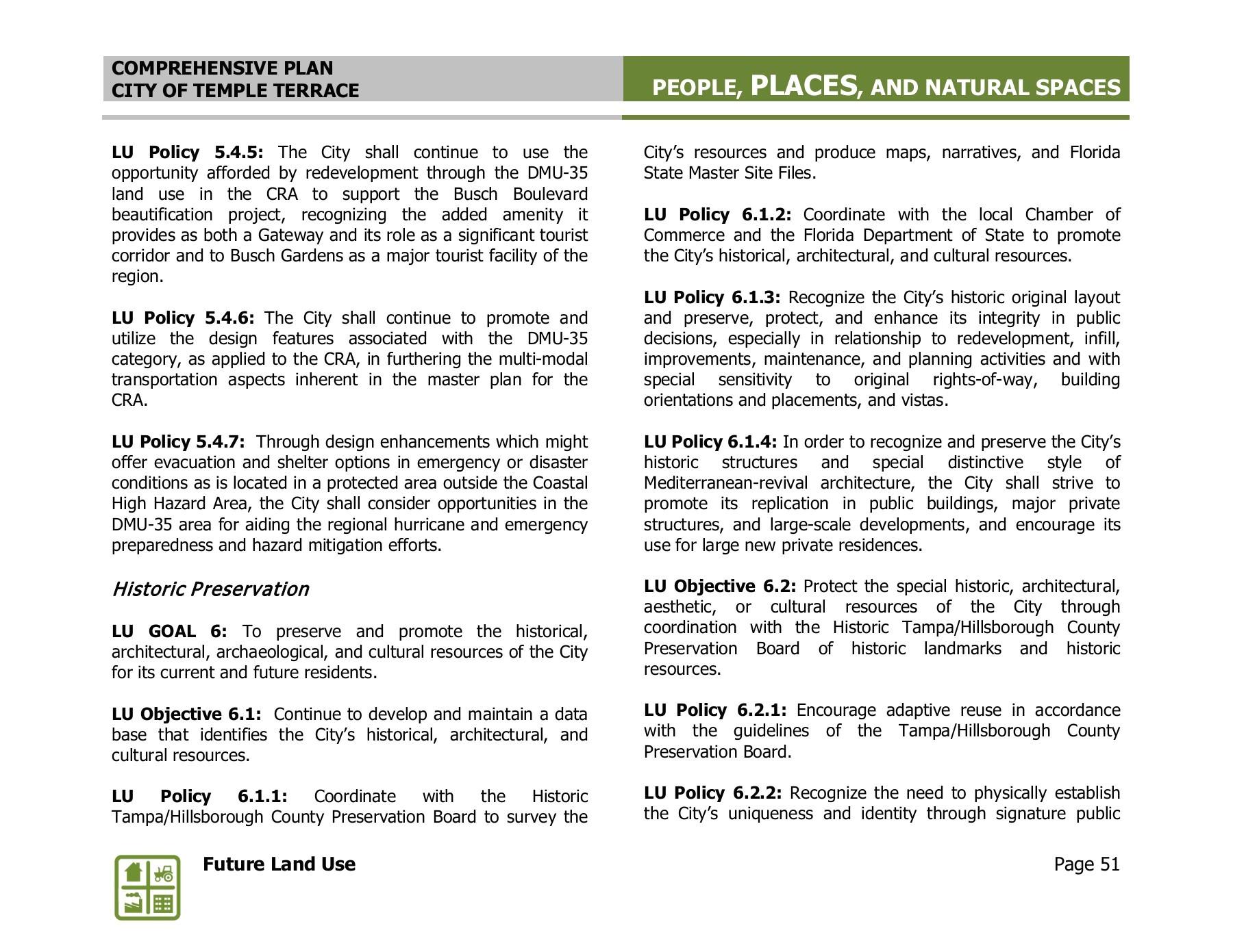 imagine 2040 temple terrace comprehensive plan pages 51 100 text version fliphtml5