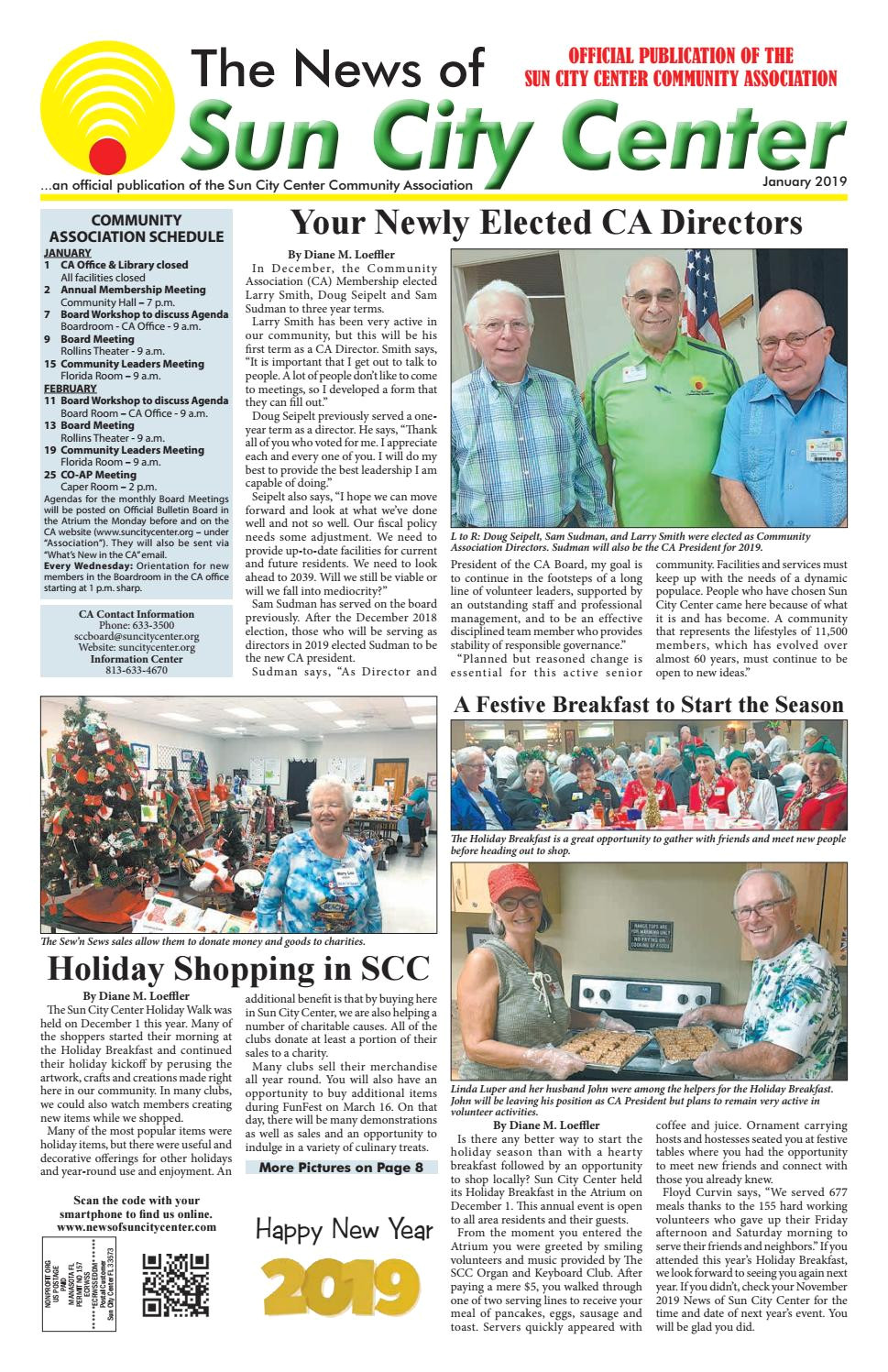 news of sun city center january 2019 by the news of sun city center south county issuu