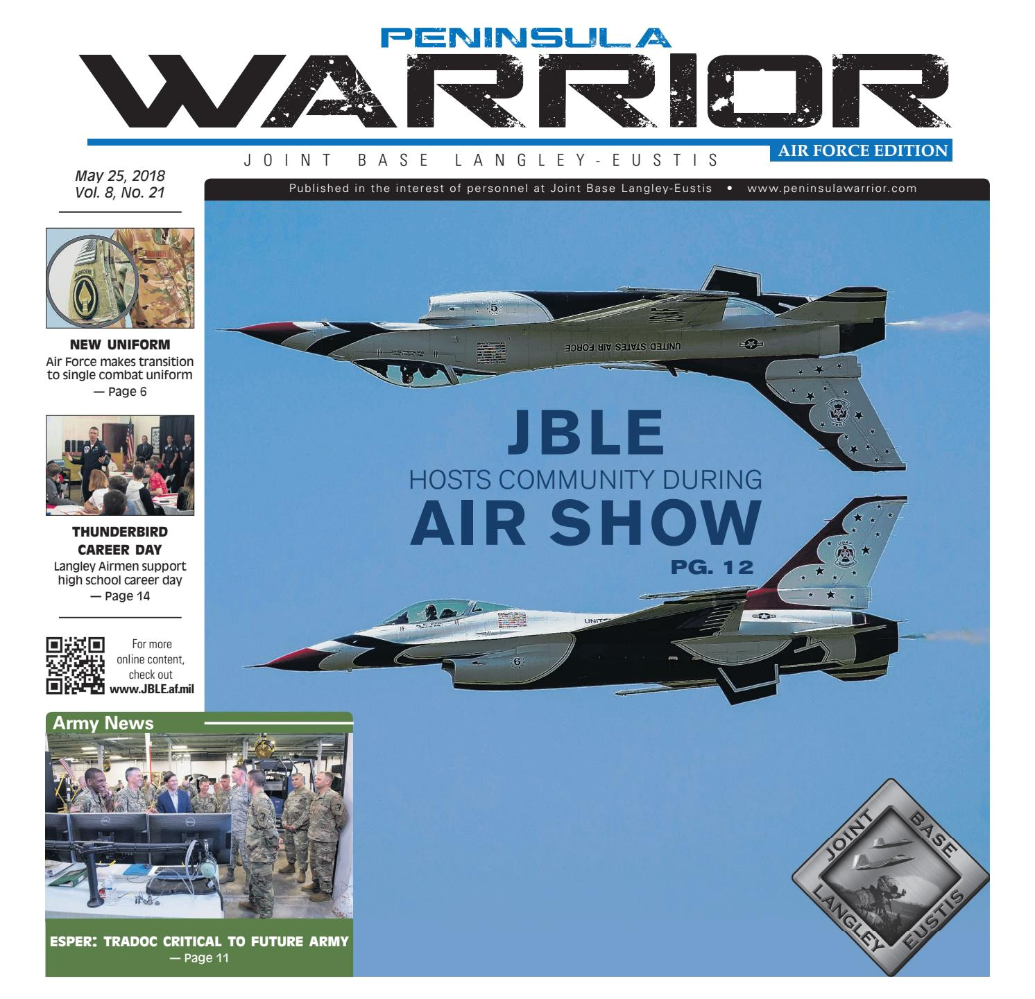 the peninsula warrior air force edition 05 25 18 by military news issuu