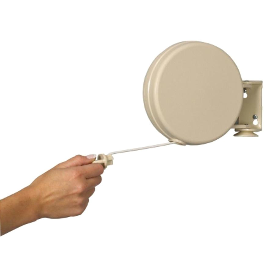 household essentials plastic retractable clothesline