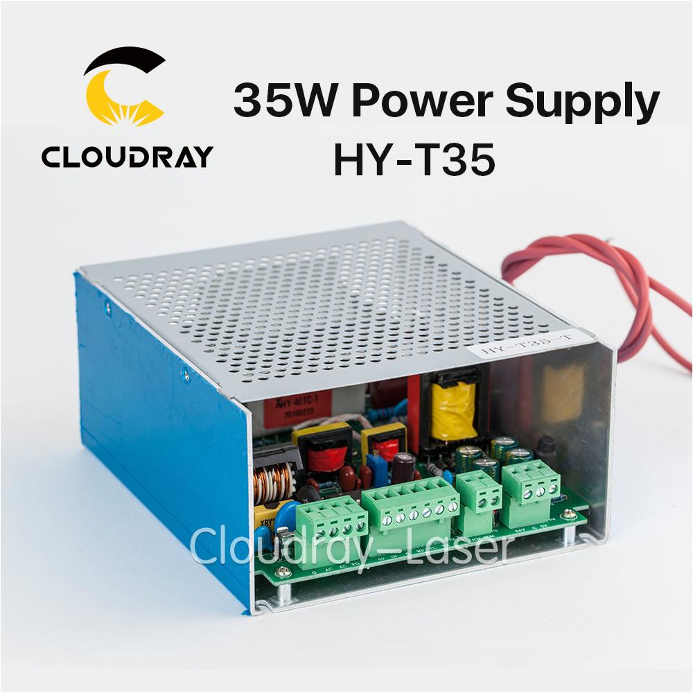 cloudray 30 40 w fuente de alimentacia n para co2 grabado laser maquina de corte laser