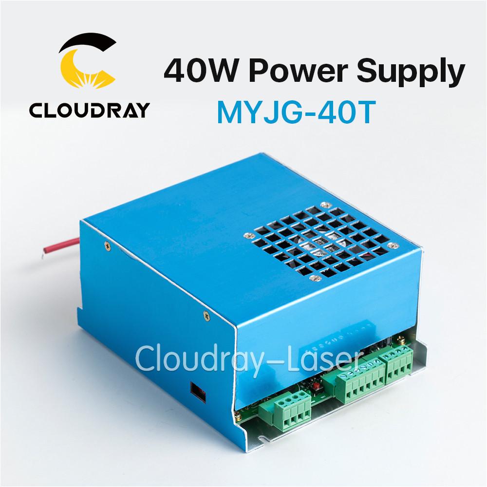 cloudray 35 50 w fuente de alimentacia n para co2 grabado laser maquina de corte laser