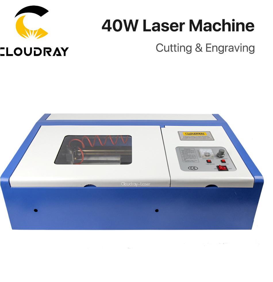 cloudray 40 w co2 grabado laser maquina de corte grabador cortador puerto usb 3020 de alta precisia n