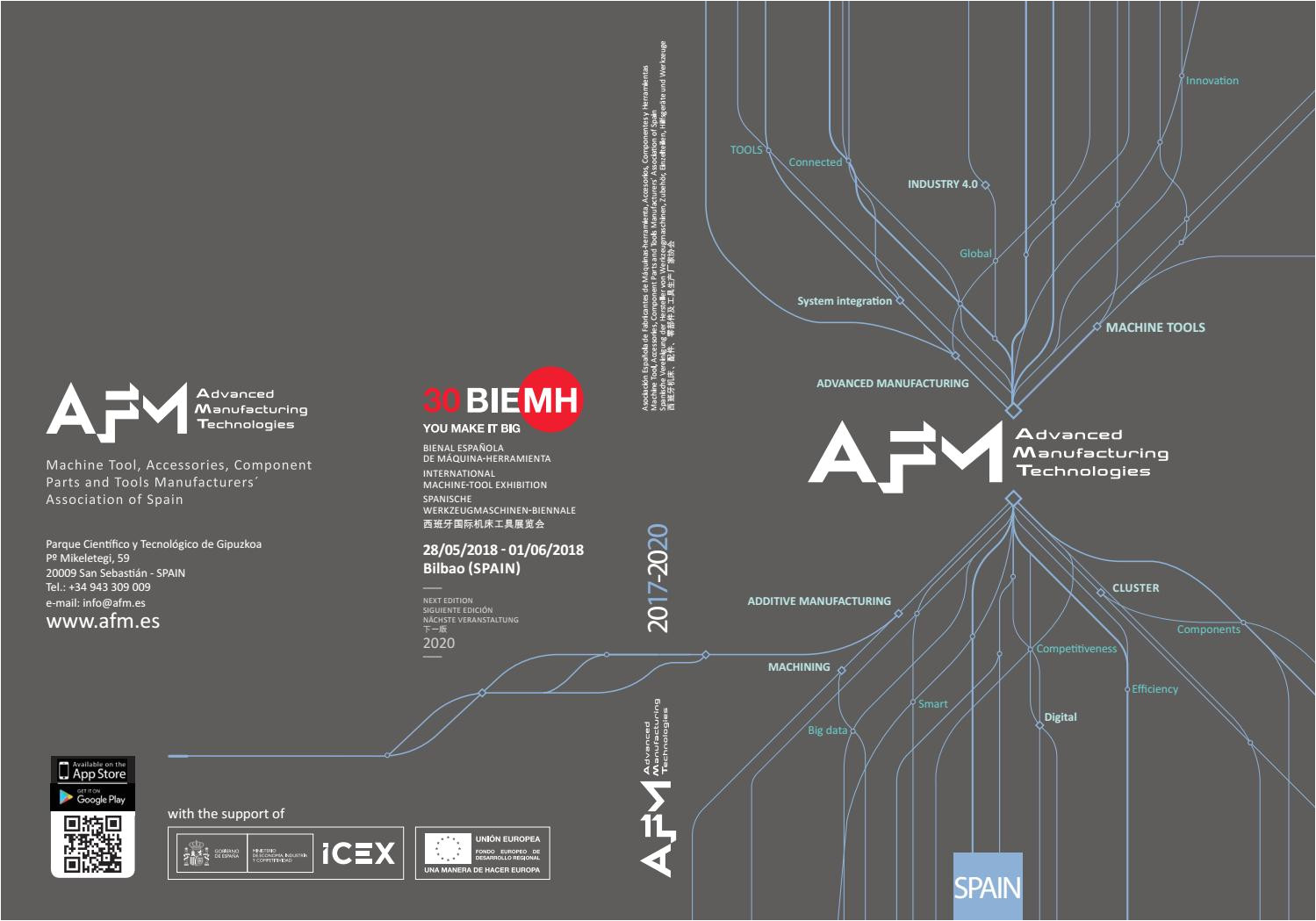 catalogo general afm 2017 2020 by afm advanced manufacturing technologies issuu