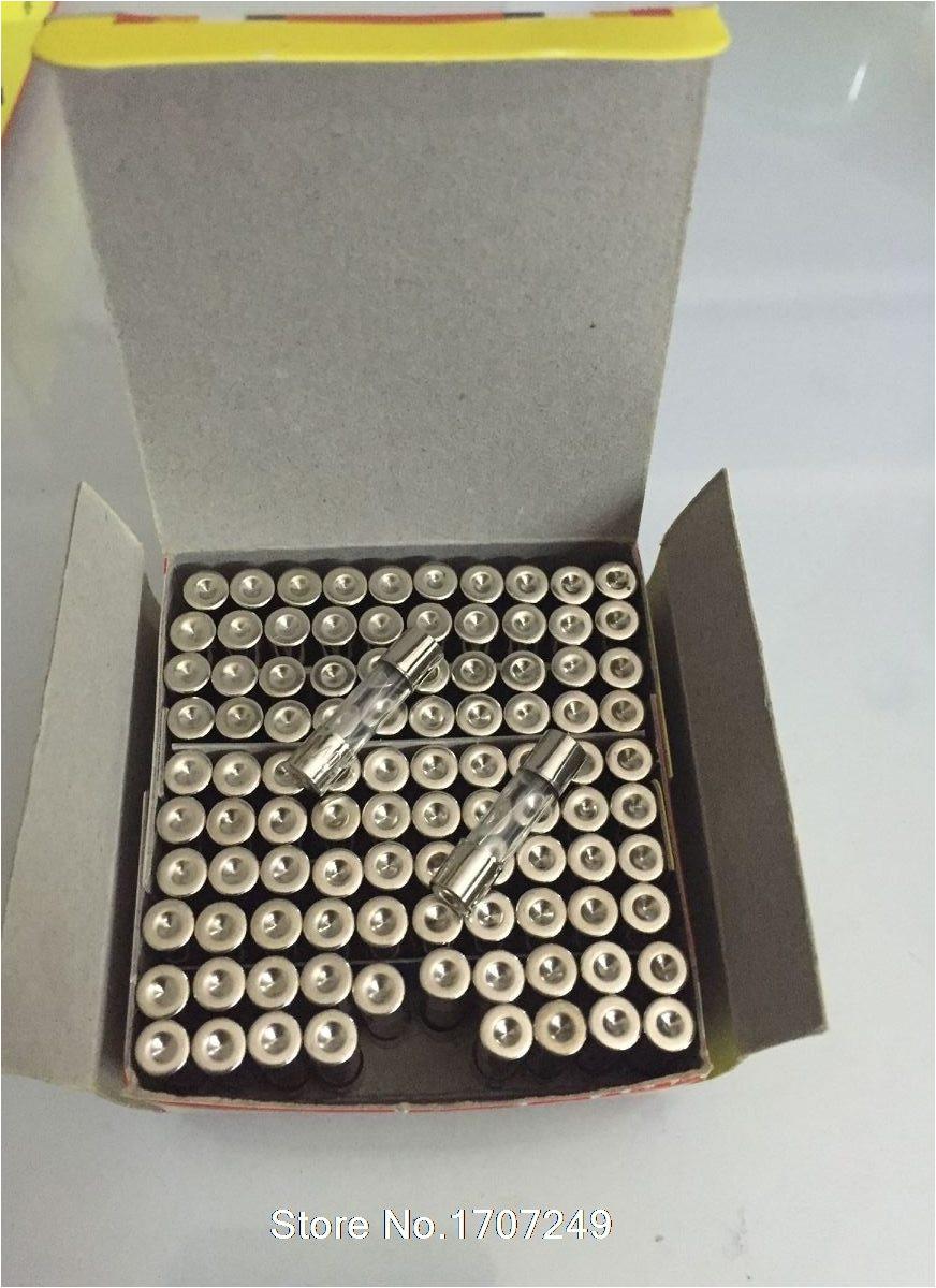 enva o libre 100 unids bolsa vidrio 5 20mm 0 5a 250 v alta calidad