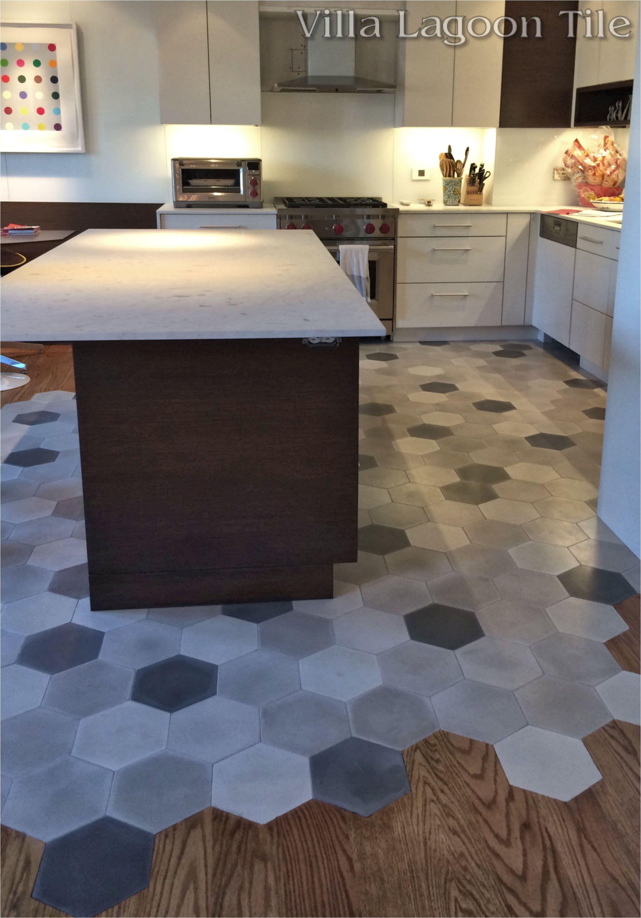 Marazzi American Heritage Spice Tile This Beautiful New York City Installation Flows Hardwood Floors Into