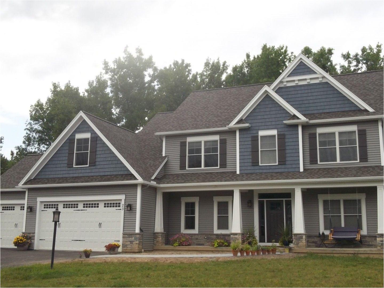 home exterior grey siding with blue shake siding grey siding house blue vinyl siding