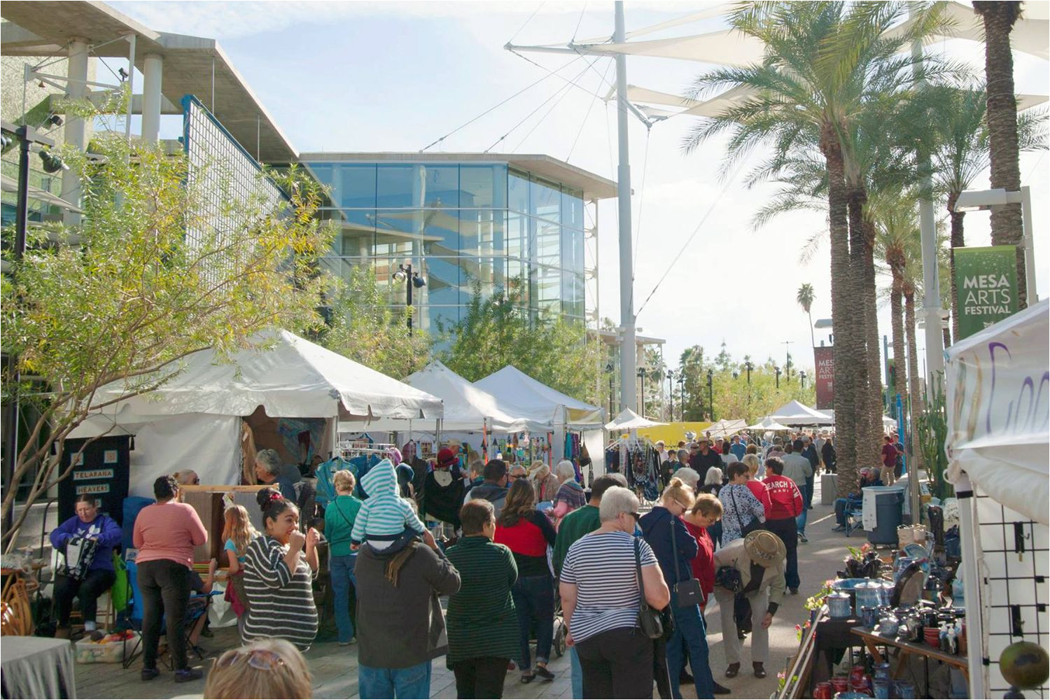 Mesa Holiday Arts and Crafts Festival where to Shop for Christmas In Phoenix