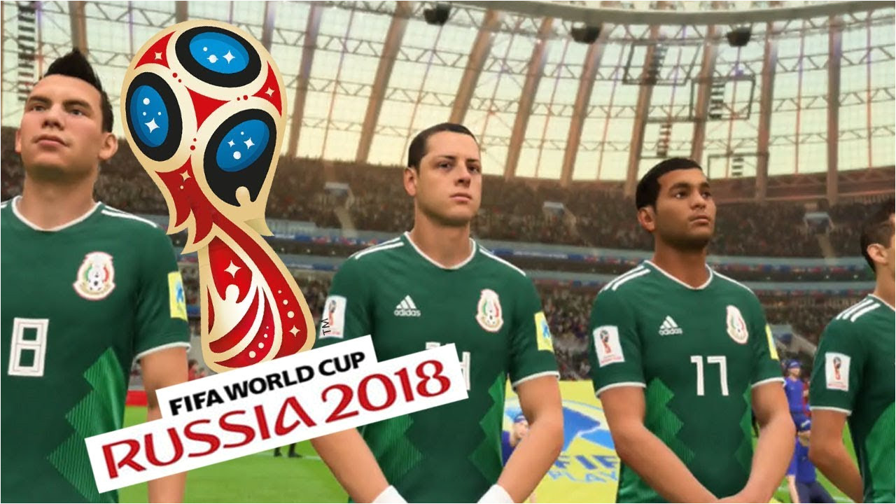 germany vs mexico fifa world cup 2018 fifa 18 world cup gameplay youtube gaming