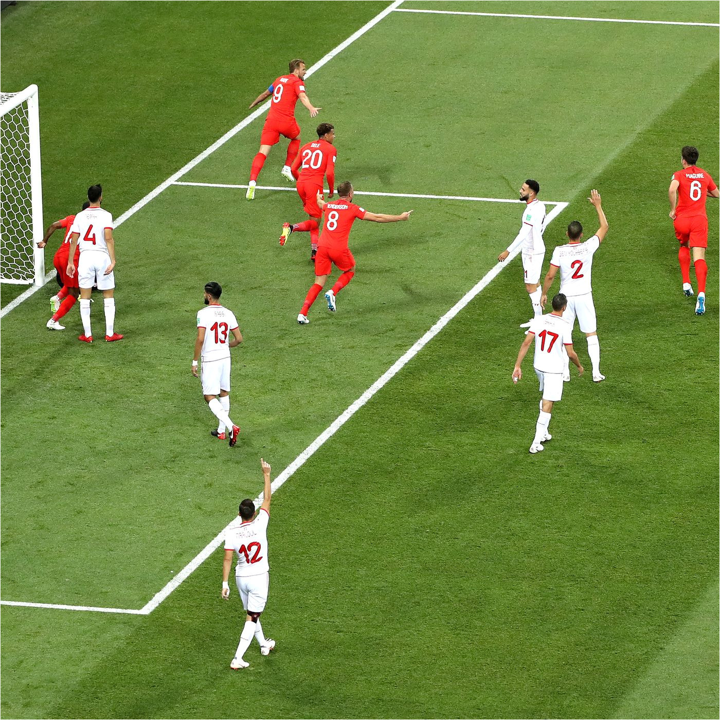 world cup 2018 highlights harry kane s england winner and all day 5 goals sbnation com
