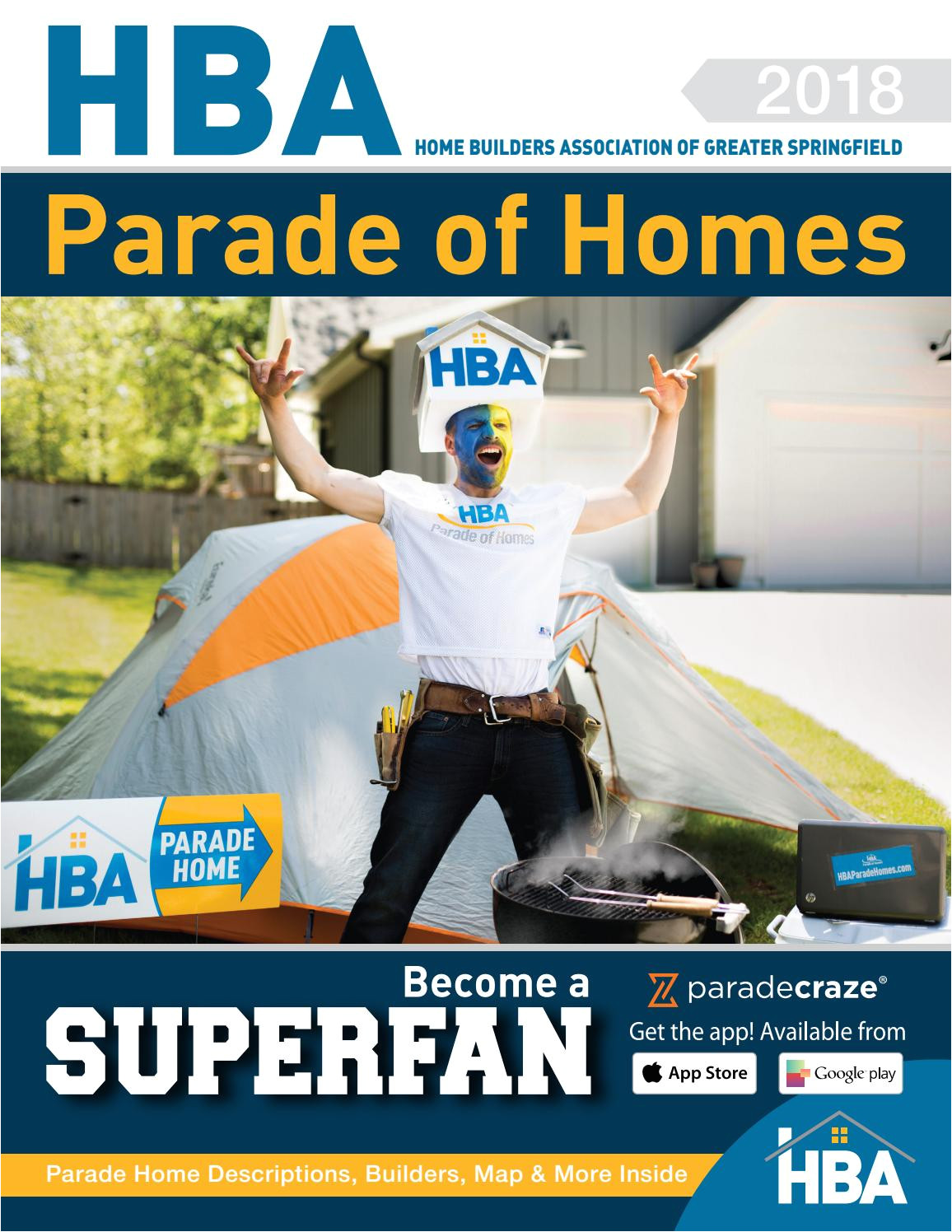 Midwest Rug Co Springfield Mo Hba Parade Of Homes Magazine by Home Builders association Of Greater