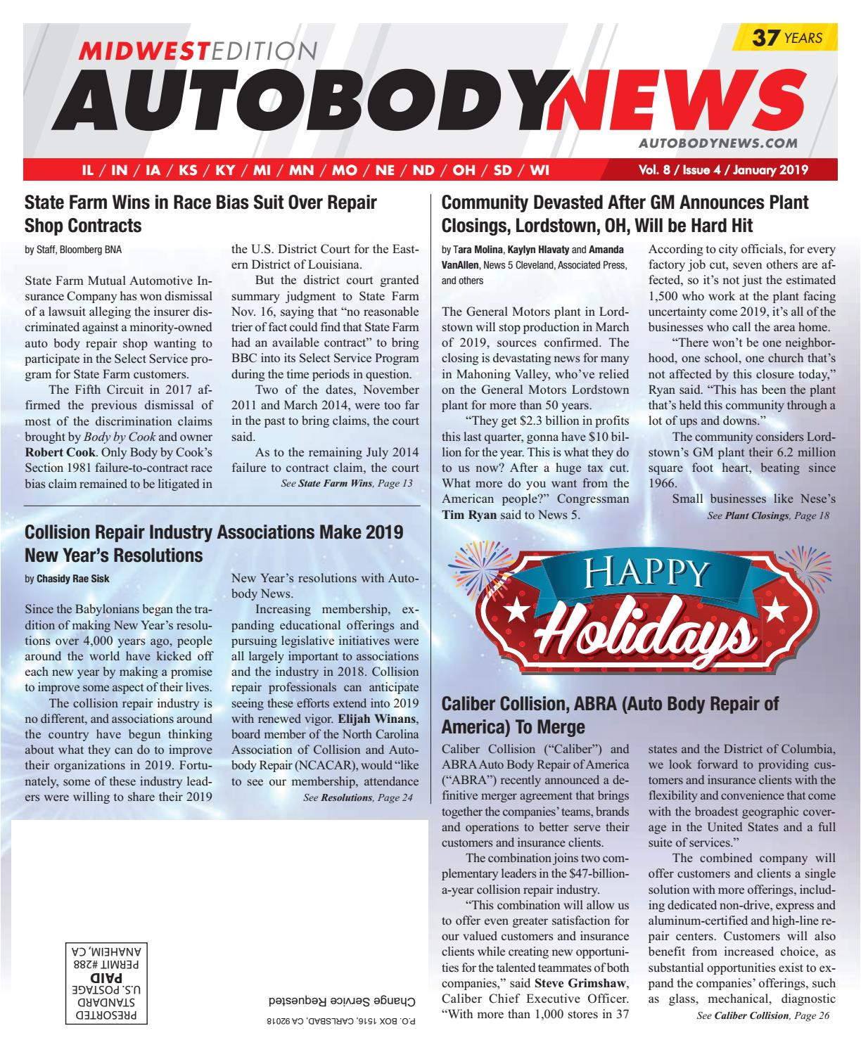 Midwest Rug Co Springfield Mo January 2019 Midwest Edition by Autobody News issuu