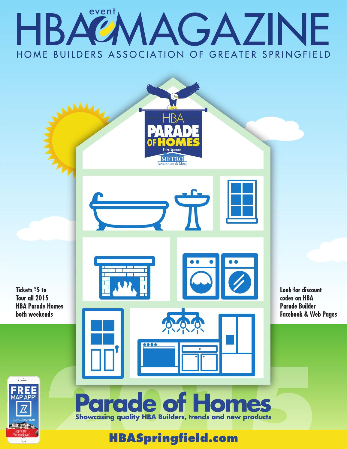hba magazine parade of homes edition 2015 by home builders association of greater springfield issuu