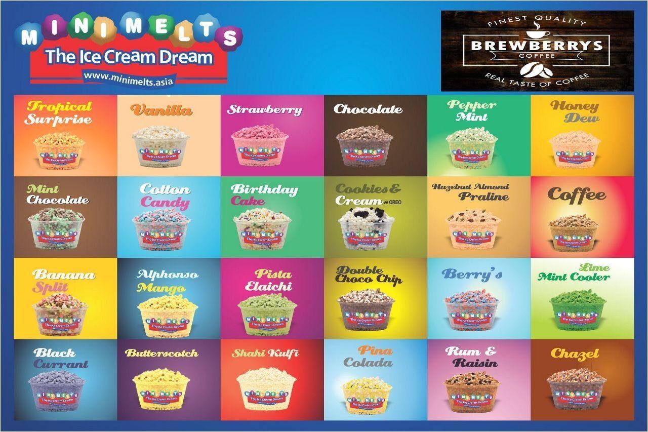 brochure kulfi house mini melts photos dargamitta nellore ice cream parlours