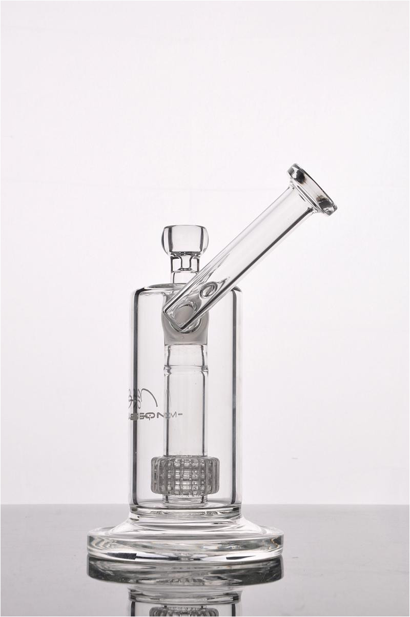 new mobius matrix sidecar glass bong birdcage perc glass bongs thick glass water smoking pipes with
