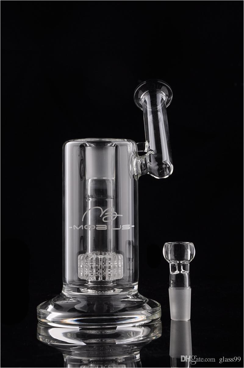real picture mobius matrix sidecar glass bong birdcage perc glass bongs thick glass pipe smoking pipes