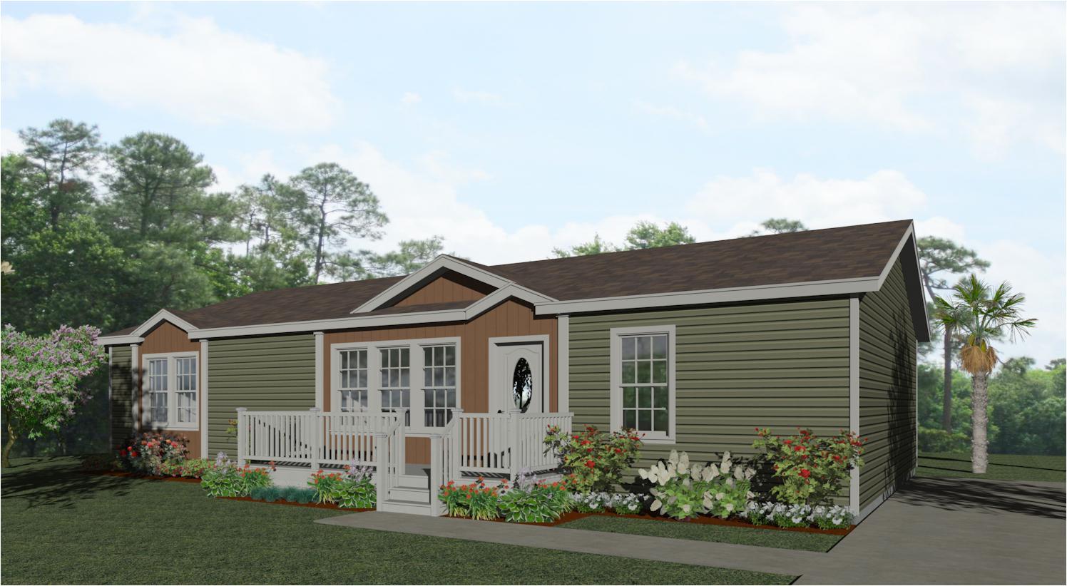 2 exterior rendering floor plan imp 45214w