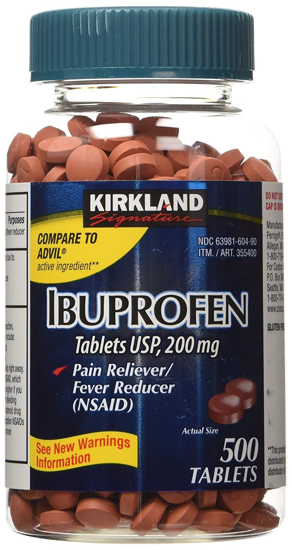 amazon com kirkland signature ibuprofen 200mg 2x500 count health personal care