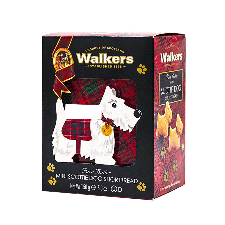 walkers shortbread scottie dog 3d carton 5 3 ounce