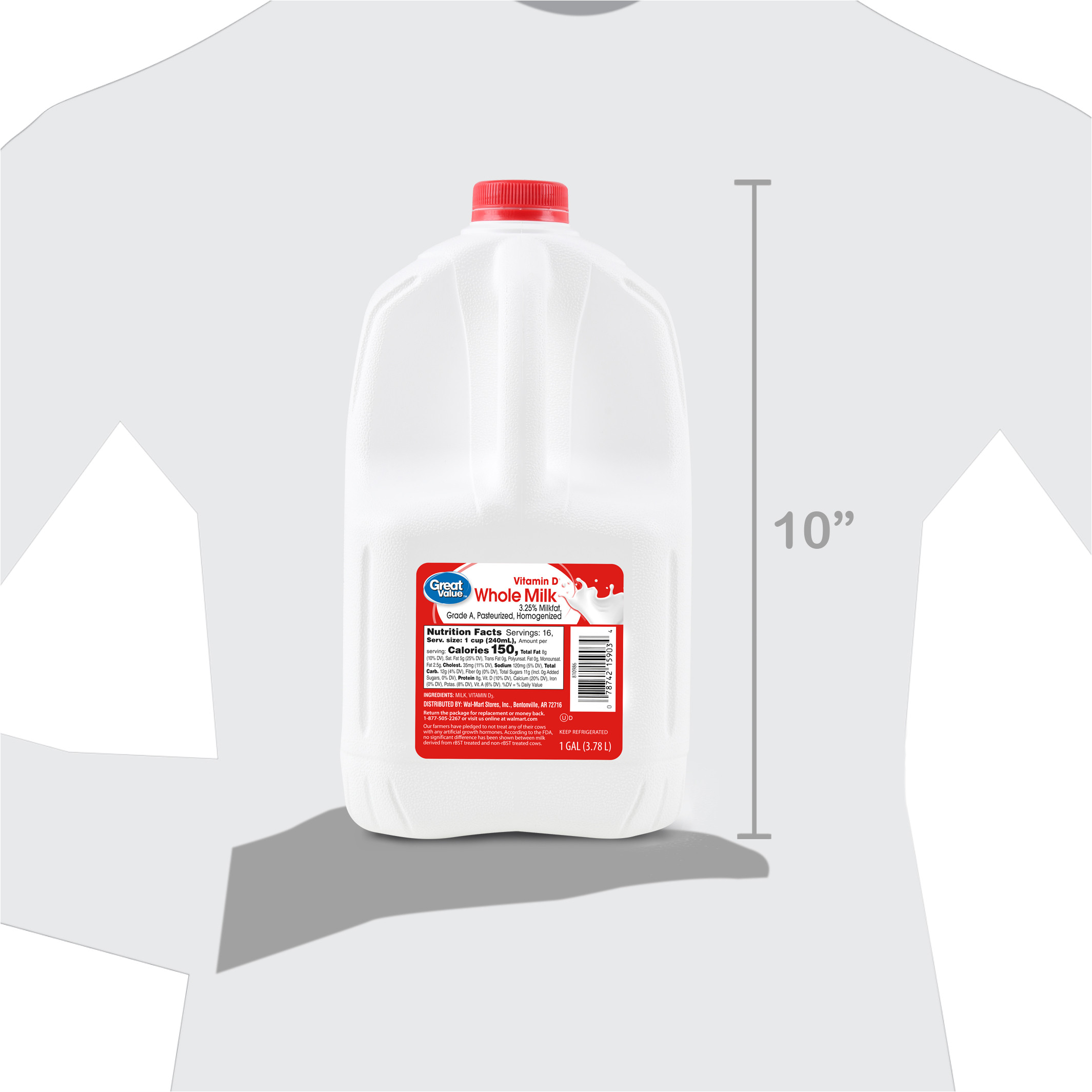 Money Saver Mini Storage Kirkland Wa Great Value whole Milk 1 Gallon 128 Fl Oz Walmart Com