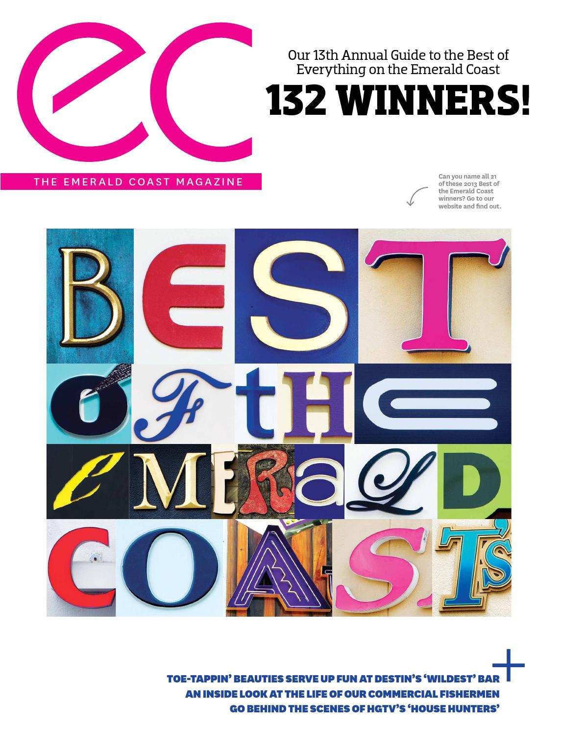 emerald coast magazine october november 2013 by rowland publishing inc issuu