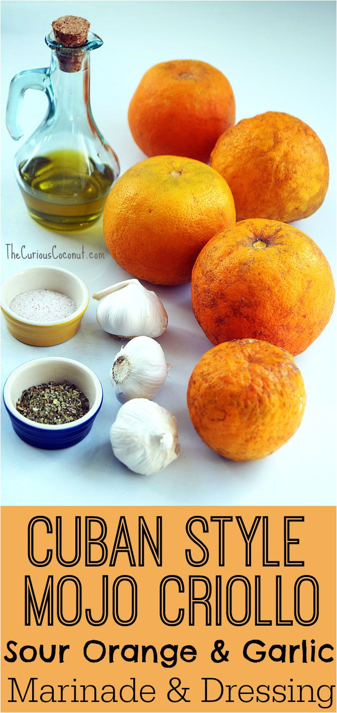 cuban mojo criollo marinade and dressing