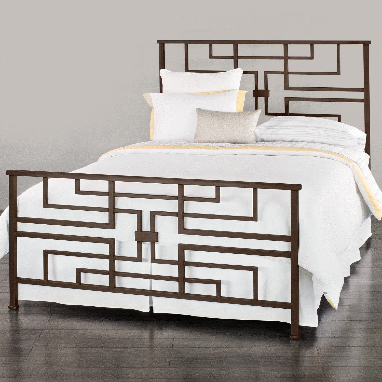bradford iron bed shown in aged steel muebles de metal madera y metal muebles
