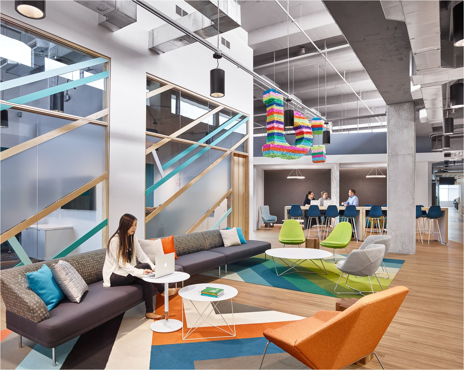 lauckgroup has designed the new headquarters of bazaarvoice located in austin texas bazaarvoice connects brands and retailers to the voices of their
