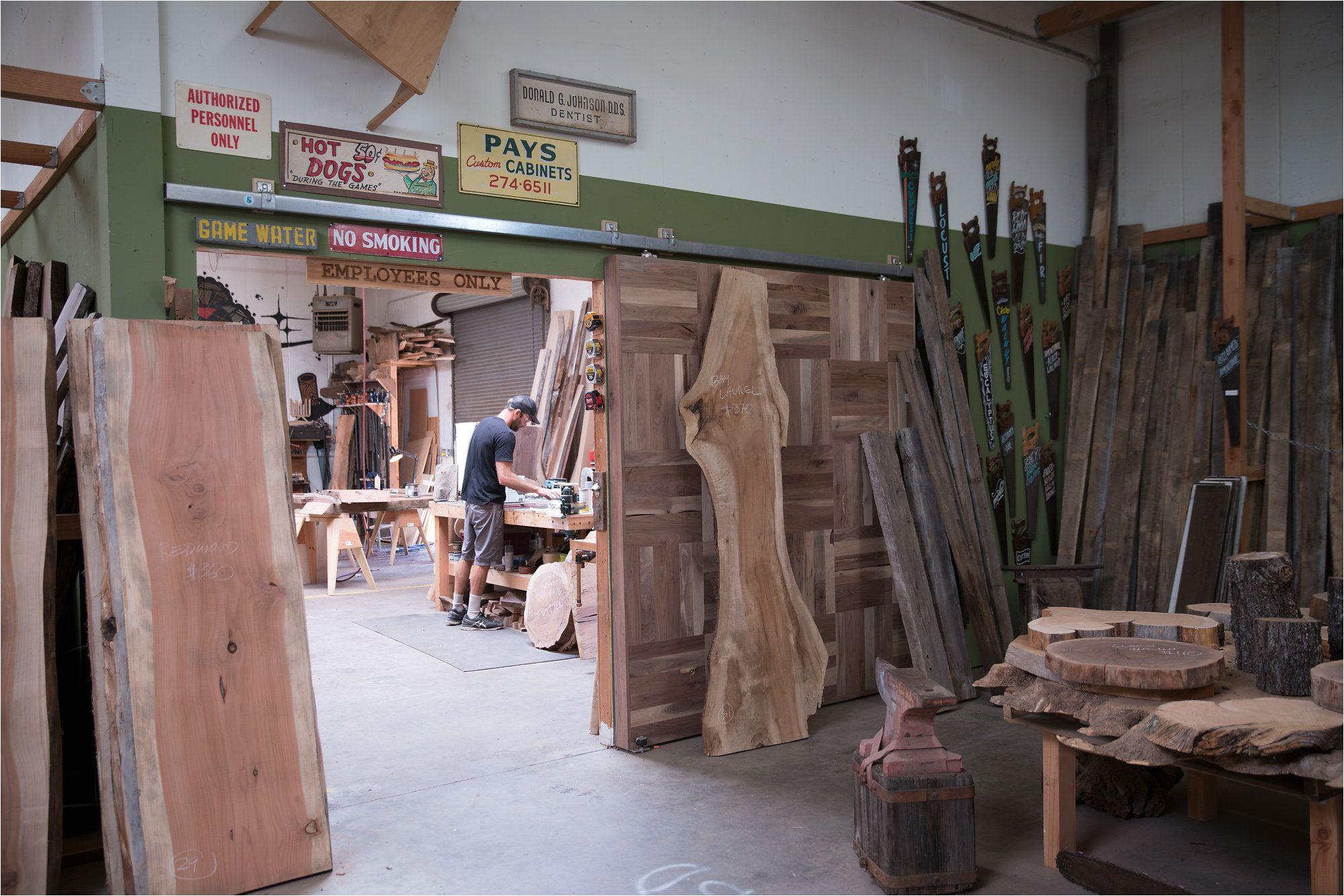 made lumber live edge slabs in san diego ca muebles