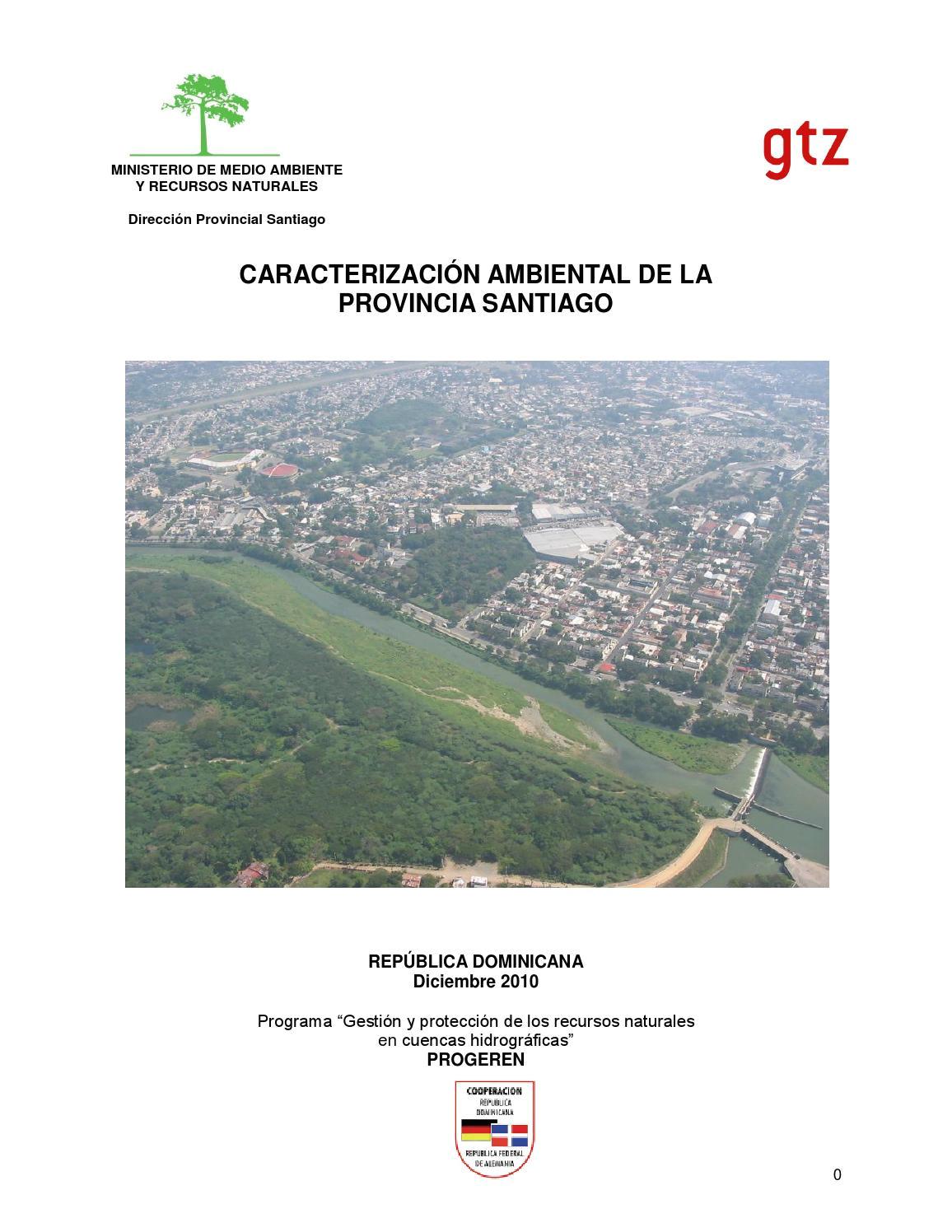 caracterizacia n ambiental de la provincia santiago by consejo para el desarrollo estrategico de santiago cdes issuu